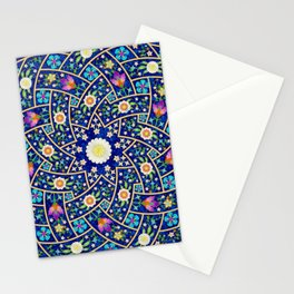 Unity in blue Stationery Cards