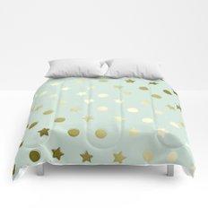 Gold Confetti Comforters