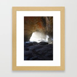 Devils Punch Bowl Framed Art Print