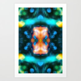 Abstraction float Art Print