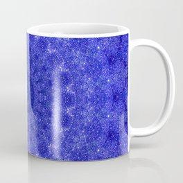 Cosmos Mandala II Cobalt Blue Coffee Mug