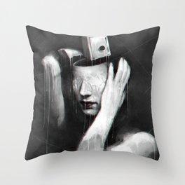 Coat of lies Throw Pillow