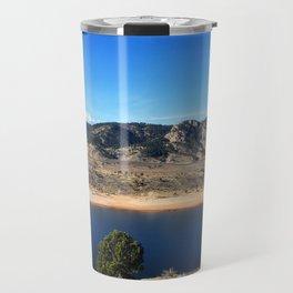 Horsetooth Reservoir Fort Collins Colorado Color Photo Travel Mug