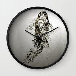 Koi Aluminium Wall Clock