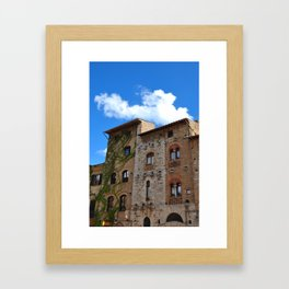 San Gimignano Framed Art Print