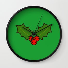 Cute holly Wall Clock