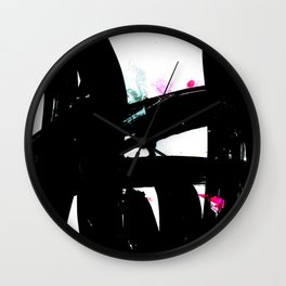 Ecstasy Dream No, A215 by Kathy Morton Stanion Wall Clock