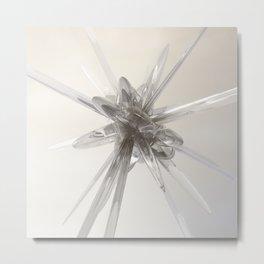 Glass Star Metal Print