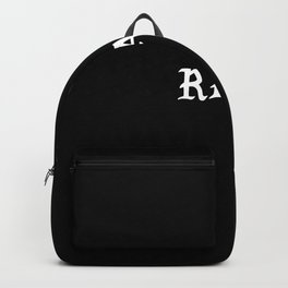 Typographic Real Hand Lettering Backpack