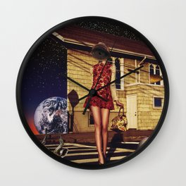 An unusual rendezvous Wall Clock