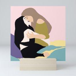 Sapphic Mini Art Print