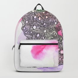 170321 Spring Watercolour 4  Micron Pen Drawing Backpack