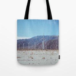 Palm Springs Windmills VII Tote Bag