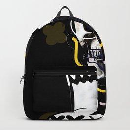 No.1 - Beauty isn't only skin deep /  b-ART - BLACK Backpack