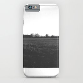 Instant Print 2- Rural Countryside iPhone Case