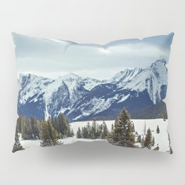 Rocky Mountains Pillow Sham