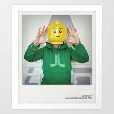Minifig me ! – Everyone has a LEGO piece inside - 1 Art Print