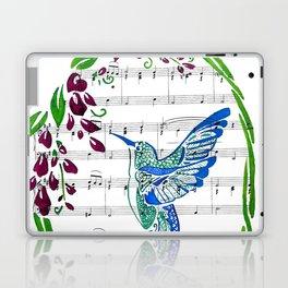 Carrier of Hope (Hummingbird and Wisteria) Laptop & iPad Skin