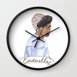 Cinder Wall Clock
