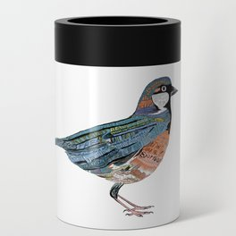 Typographic Sparrow Can Cooler