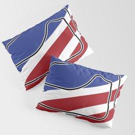 Sebring Racetrack Pillow Sham