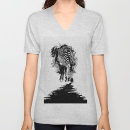 Stripe Charging Unisex V-Neck