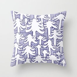 Fondo Araucarias Throw Pillow