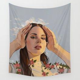 Lana Roses Wall Tapestry