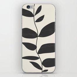 minimal plant iPhone Skin