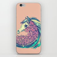 horse iPhone & iPod Skins featuring Beautiful Horse by dvdesign