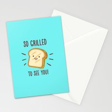 Cheesy Greetings! Stationery Cards