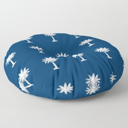 Palmetto 2-palms,drupe,sabal,swamp,cabbage,abanico,drupa,palmera Floor Pillow
