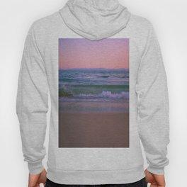 Pink Sunset Ocean Hoody