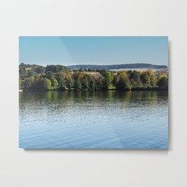 Lake Echternach Luxembourg Metal Print
