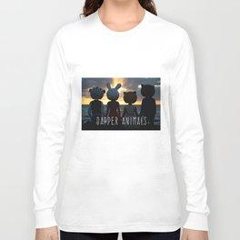 Dapper Animals Sunset Long Sleeve T-shirt