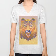 Graphic Abstraction Unisex V-Neck