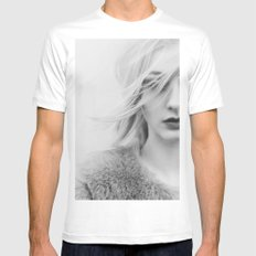 Under the veil White Mens Fitted Tee MEDIUM