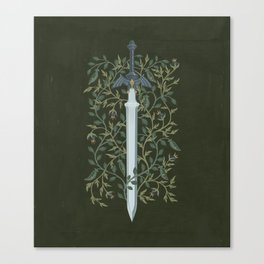Sword of Time Canvas Print