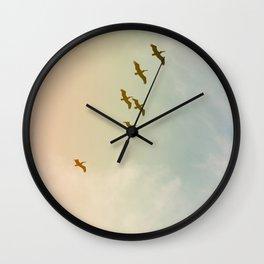 Updraft #3 Wall Clock