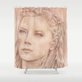 Shield Maiden Shower Curtain