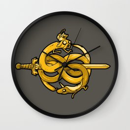 Neverending Adventure Wall Clock