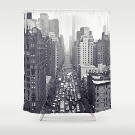 flying over first... Shower Curtain