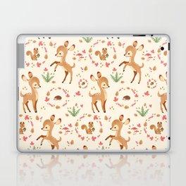 forest animals pattern Laptop & iPad Skin