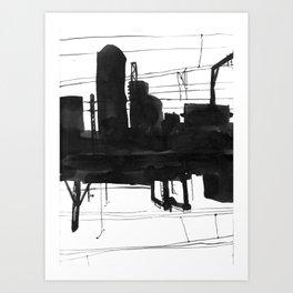 Railway II Art Print