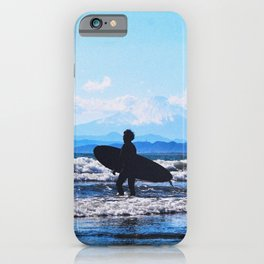 Japan - 'Surfing In The Hot Summer' iPhone Case