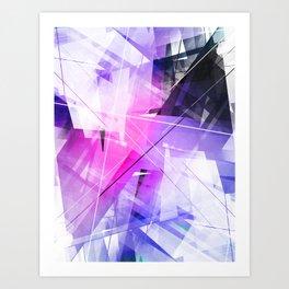 Replica - Geometric Abstract Art Art Print