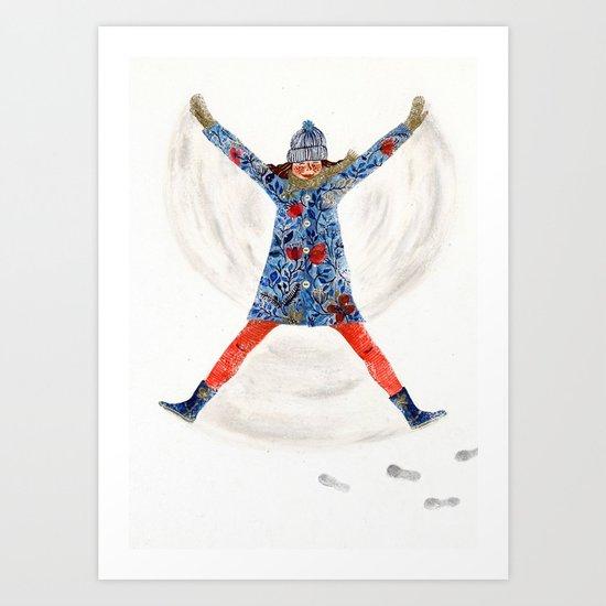 snowangel Art Print