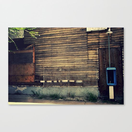Pay Phone II Canvas Print