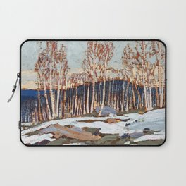 Tom Thomson ‑ Birches - Canada, Canadian Oil Painting - Group of Seven Laptop Sleeve