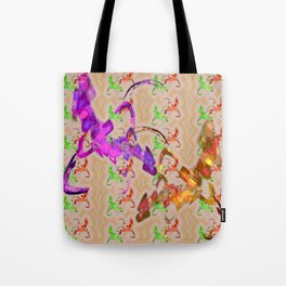 Fights of knights Tote Bag